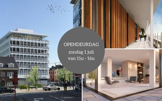 Opendeur residentie 'De Generale' op 1 juli & onthulling modelappartement